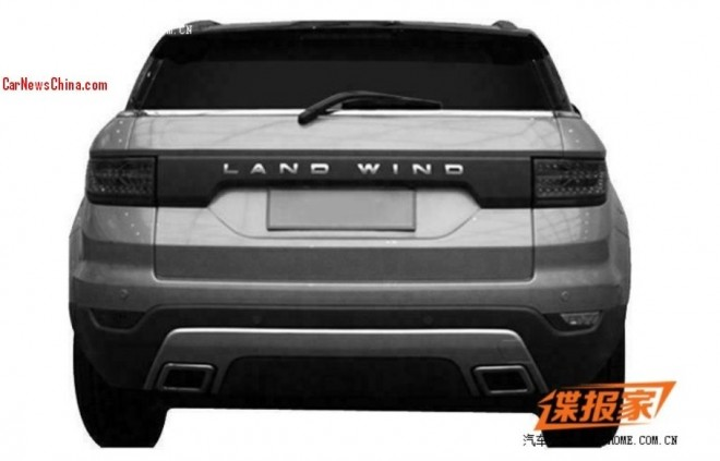 Patent Applied: China's Landwind E32 goes for the Range Rover Evoque