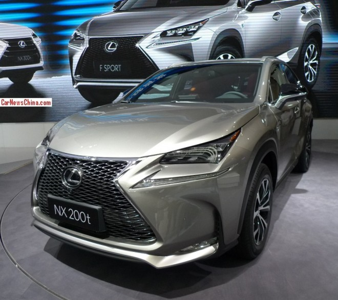 Lexus NX SUV debuts on the Beijing Auto Show