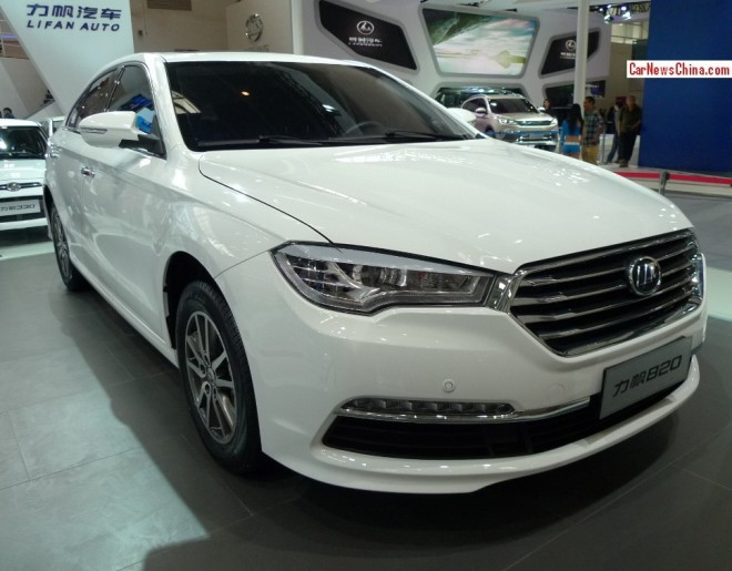 Lifan 820 sedan debuts on the Beijing Auto Show