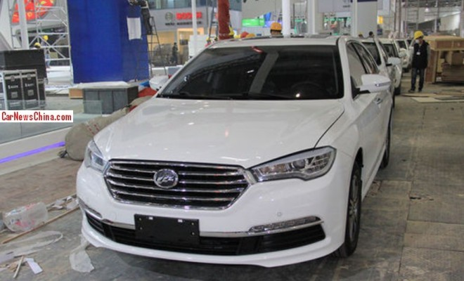 Lifan 820 arrives at the 2014 Beijing Auto Show