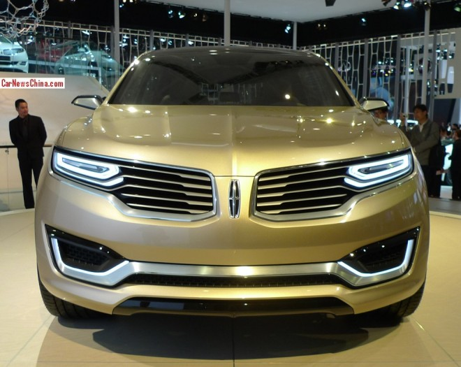 Lincoln MKX Concept SUV debuts on the Beijing Auto Show