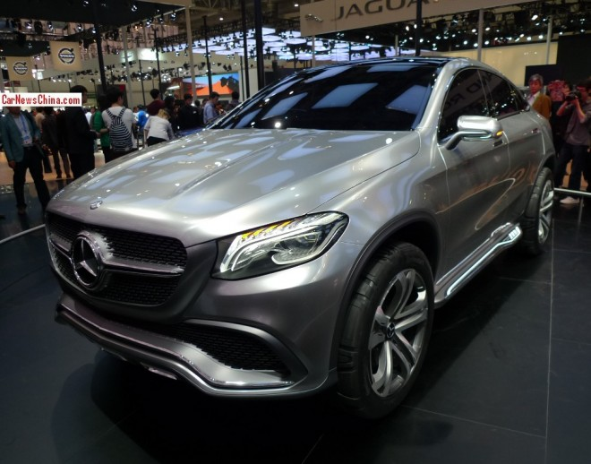 Mercedes-Benz Coupe SUV debuts on the Beijing Auto Show