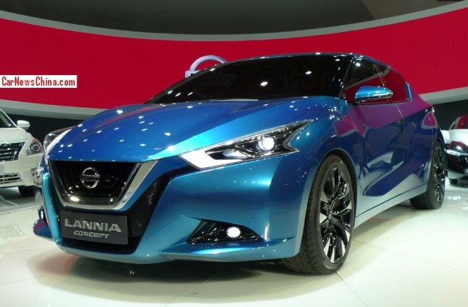 Nissan Lannia concept debuts on the Beijing Auto Show