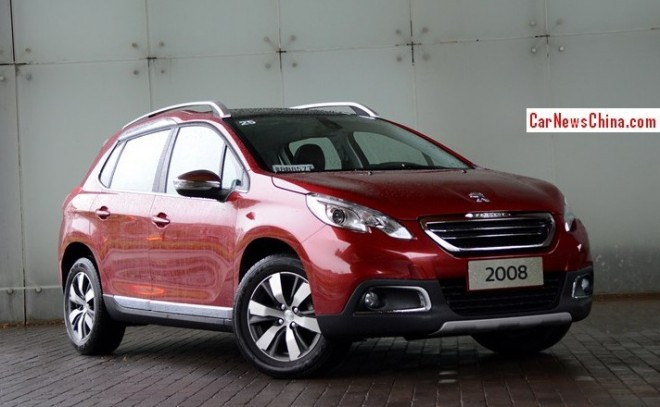 Peugeot 2008 hits the Chinese auto market
