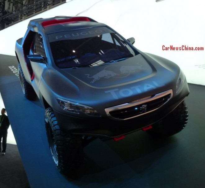 Peugeot DKR Concept debuts on the 2014 Beijing Auto Show