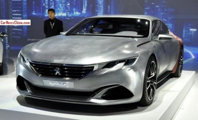 Peugeot Exalt concept debuts Early in Beijing