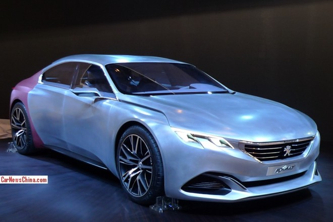 Peugeot Exalt Concept debuts on the Beijing Auto Show
