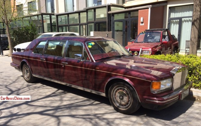 Spotted in China: Rolls-Royce Silver Spur III Mulliner Park Ward Limousine