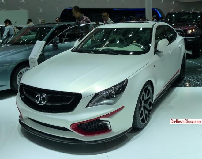 Beijing Auto Shenbao D60 Aero Concept debuts on the Beijing Auto Show