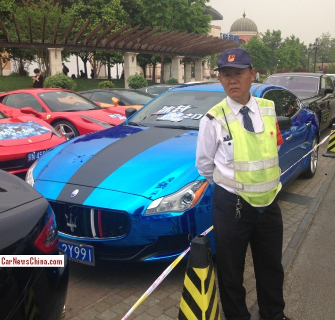 Massive Supercar Party in China for Iceman 3D
