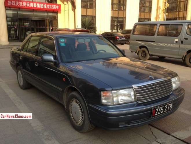 Spotted in China: S150 Toyota Crown Super Saloon 3.0