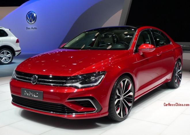 Volkswagen MNC Concept debuts on the Beijing Auto Show
