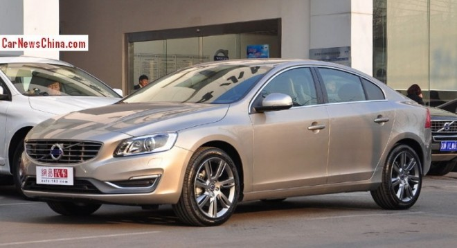 Volvo S60L Hybrid will debut on the 2014 Beijing Auto Show