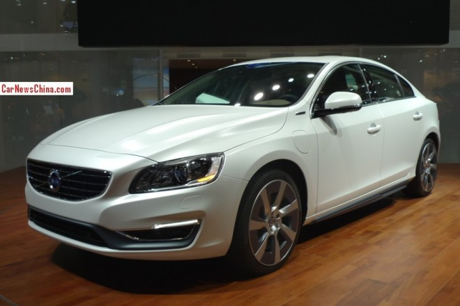 Volvo S60L Plug-in Hybrid Concept debuts on the Beijing Auto Show