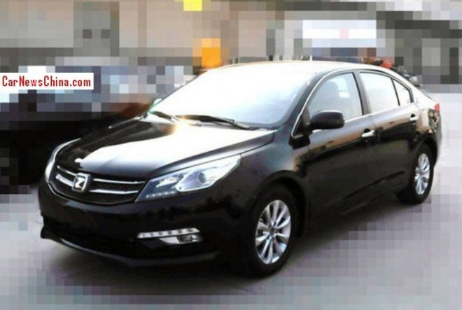This is the Zotye Z500 for the China car market