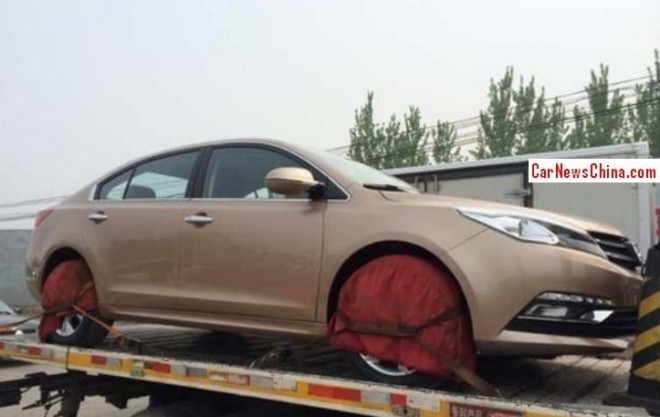 Zotye Z500 arrives at the Beijing Auto Show