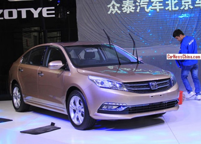 Zotye Z500 gets a cleanup for the 2014 Beijing Auto Show