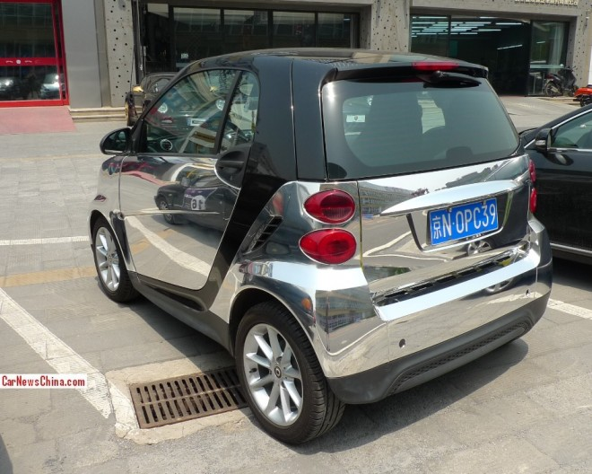 Smart ForTwo is Bling in China