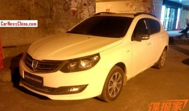 Spy Shots: Baojun 610 Cross for the Chinese car market