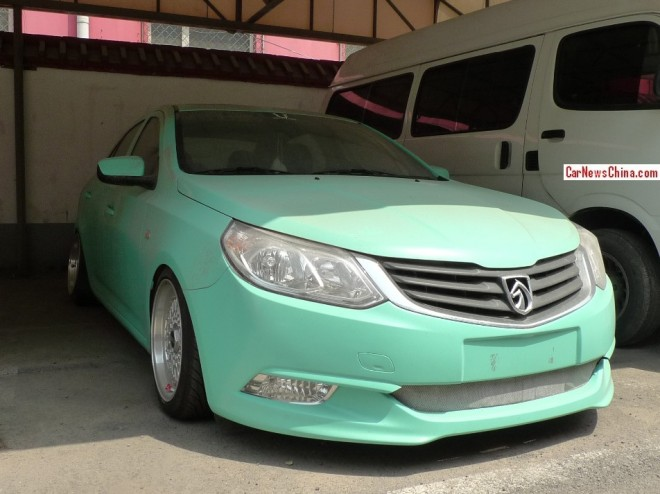 Baojun 630 is a muddy mint green low rider in China