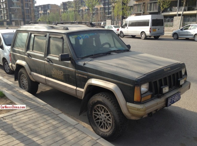 Spotted in China: Beijing-Jeep Cherokee Super Space