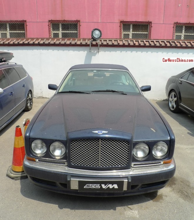 Spotted in China: Bentley Azure Mark 1 Mulliner