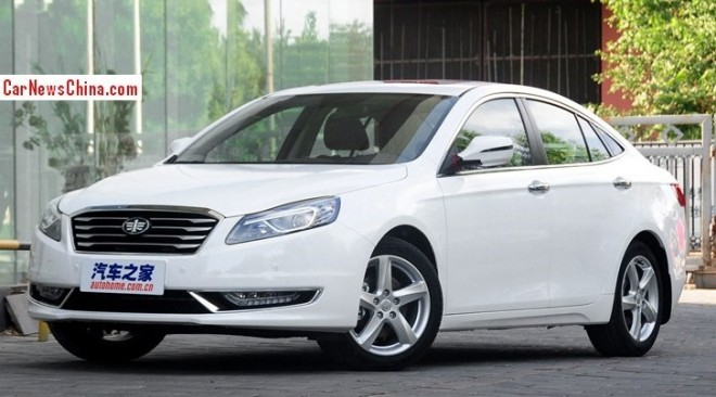 This is the facelifted Besturn B70 for the China car market