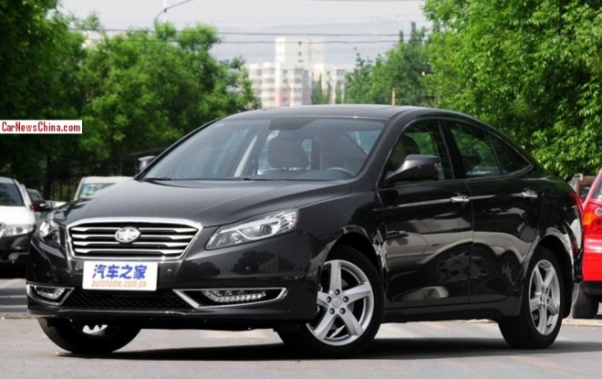 Facelifted Besturn B70 launched on the China car market