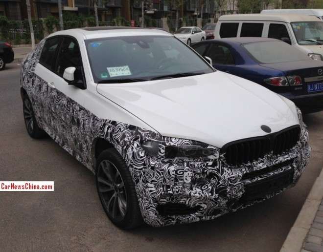 Spy Shots: 2015 BMW X6 seen testing in China