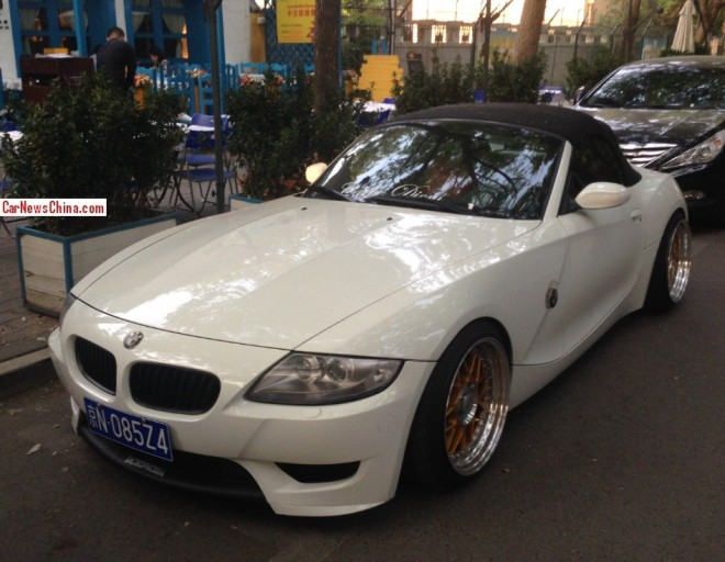 BMW Z4 is a Low Rider with a License in China