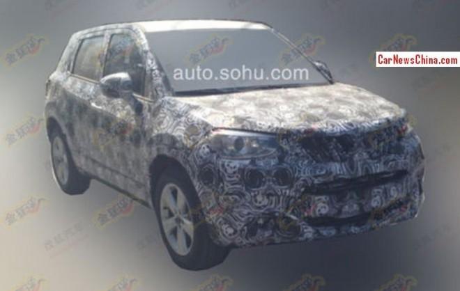 Spy Shots: Brilliance V3 SUV testing in China