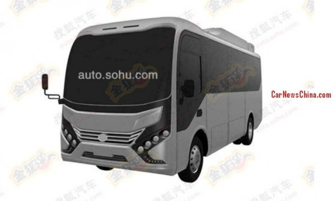 Patent Applied: new bus for BYD