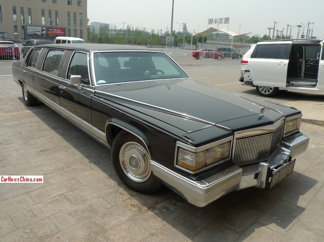 Spotted In China Cadillac Brougham Stretched Limousine