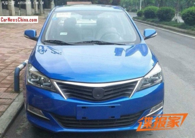 Spy Shots: new Changan Yuexiang is Ready for the China car market