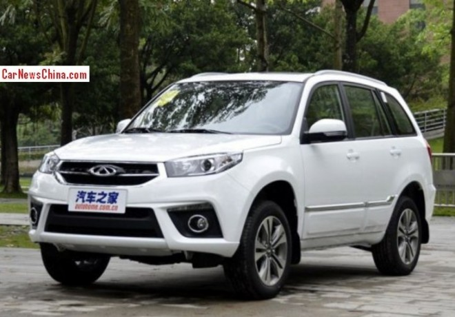 Facelifted Chery Tiggo 3 launched on the China car market