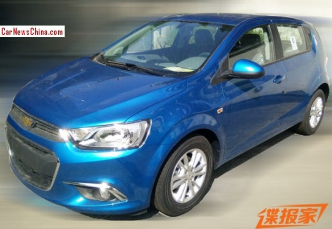 Spy Shots: facelifted Chevrolet Aveo is Ready for the China car market
