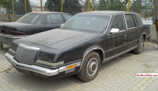 Spotted in China: sevent generation Chrysler Imperial