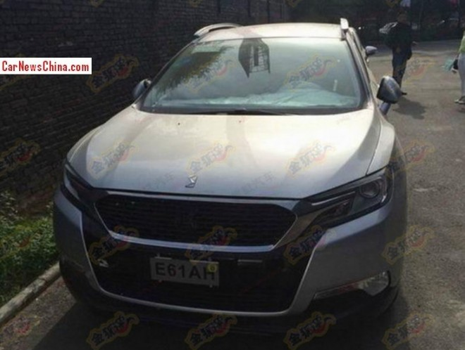 Spy Shots: Citroen DS6 WR SUV is getting Ready for the Chinese car market