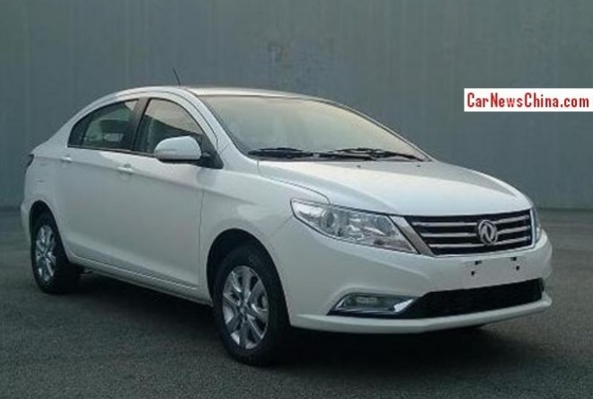 Spy shots: Dongfeng Fengshen A30 is Naked in China