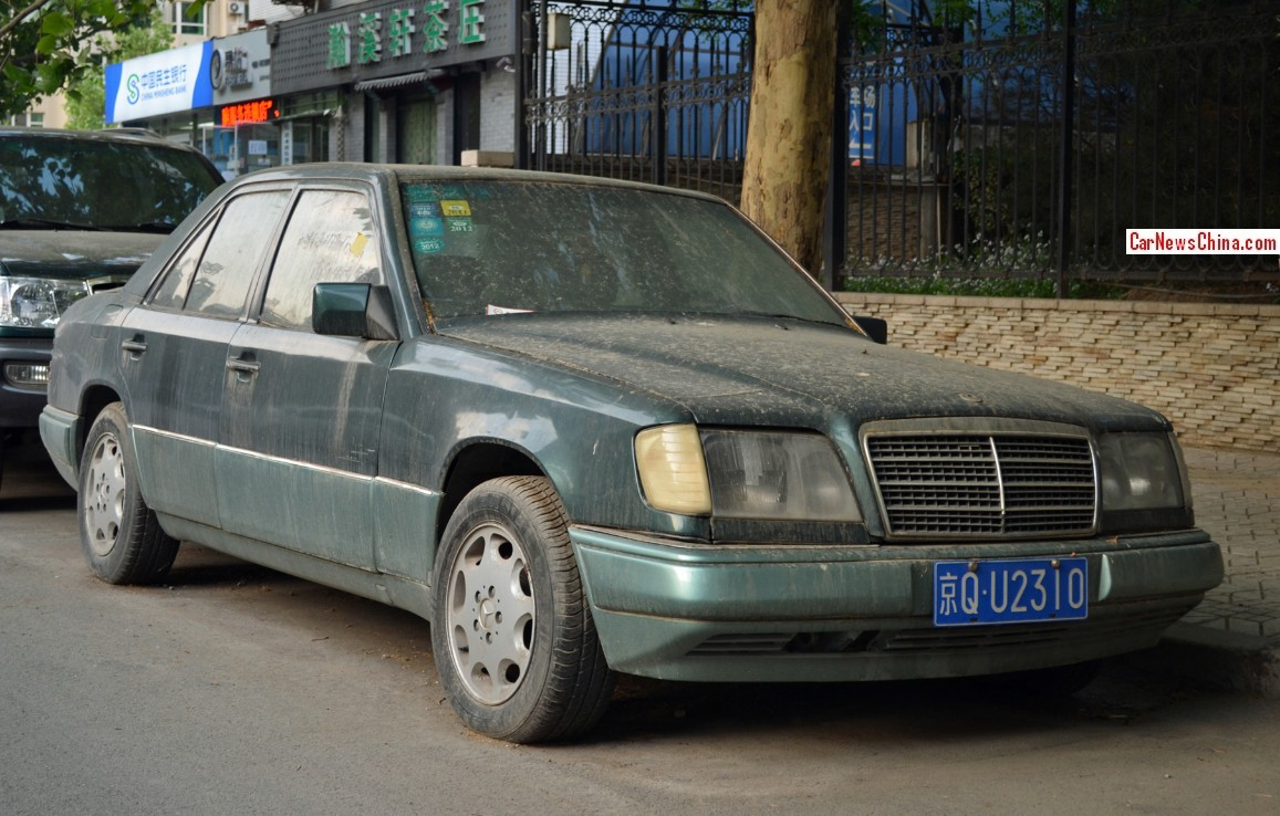 Spotted in china w124 mercedes benz e280 for Mercedes benz china