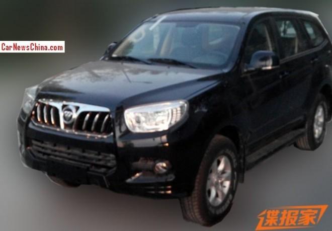 Spy Shots: Foton U201 is Ready for the China car market