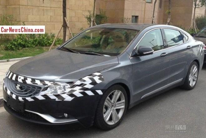 Geely Emgrand EC9 will get a 3.5 liter V6