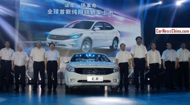 Gonow E Mei launched on the China car market