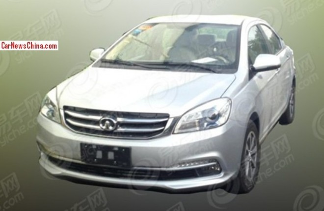 Spy Shots: facelift for the Greatwall Voleex C30 in China