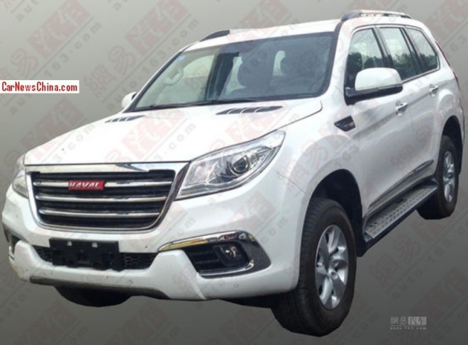 Spy Shots: Greatwall Haval H9 is Ready for the China car market