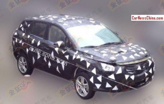 Spy Shots: Guangzhou Auto Trumpchi GS3 SUV testing in China