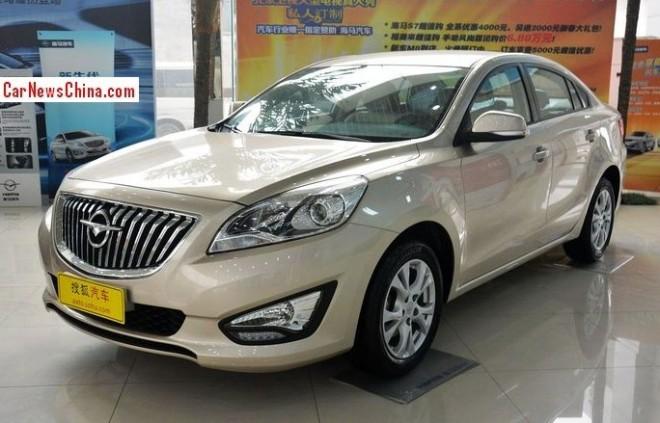 Haima Familia M5 hits the China car market