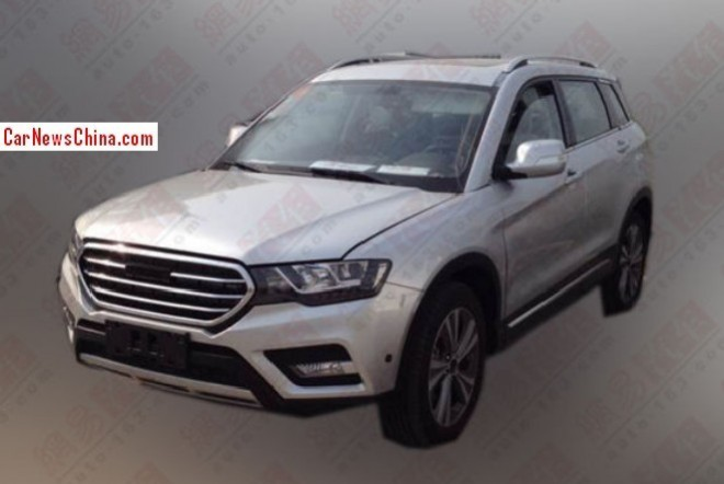 Spy Shots: Haval H7 SUV seen testing in China