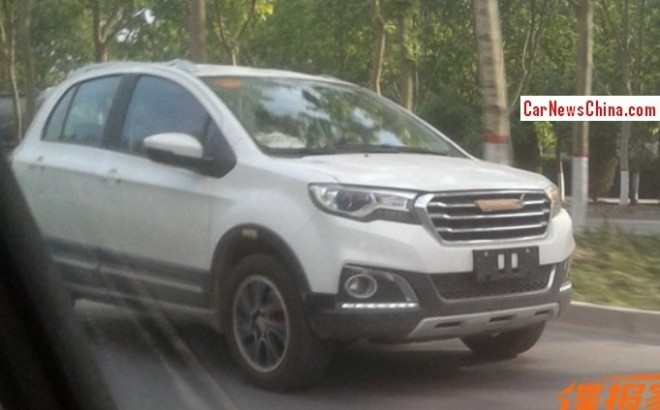 Spy Shots: Haval H1 seen testing in China