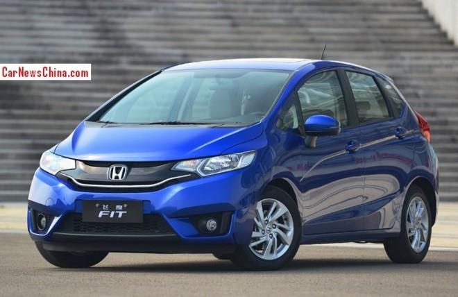 2015 Honda Fit hits the China auto market